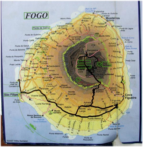 Bateau-cap-vert-juin2009-Fogo-Carte