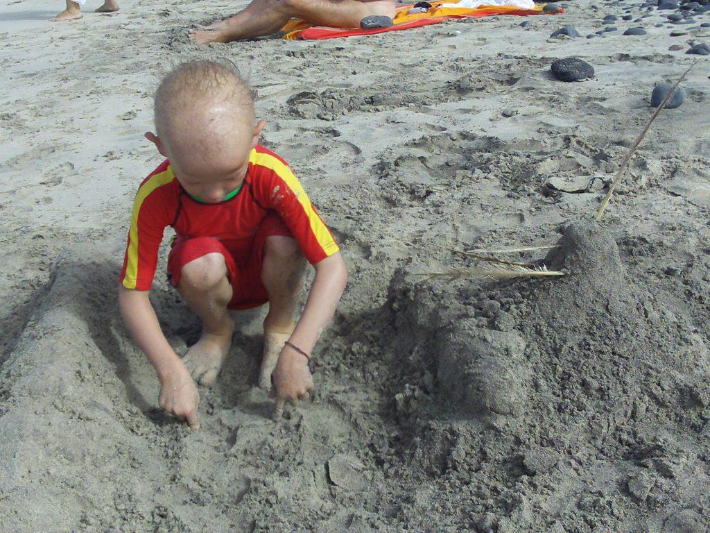 jeux sable