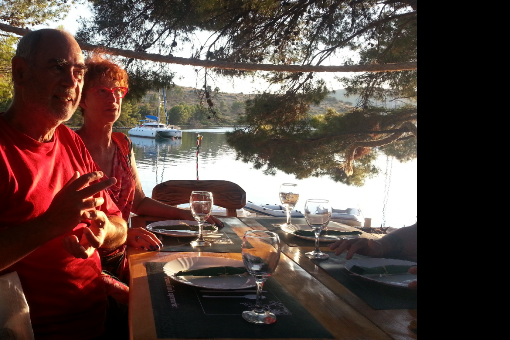croisiere-cata-croatie-ete2013-diner-mouillage-de-reve