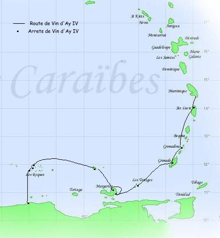 croisiere-venezuela-2002-parcours-