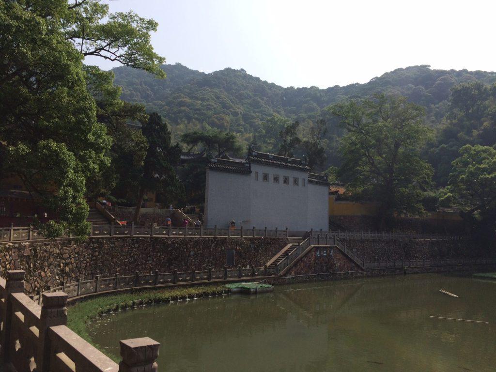 8Juin17-MFV-chine-Tiantong temple-piece-deau